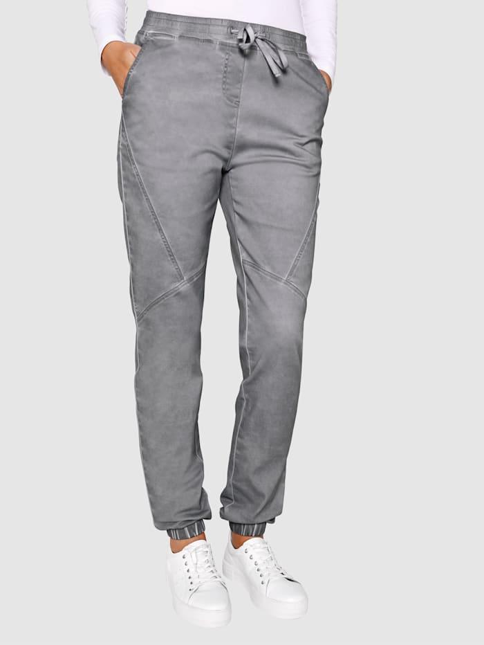 Dress In Pantalon Coupe Sandra Regular Fit, Gris