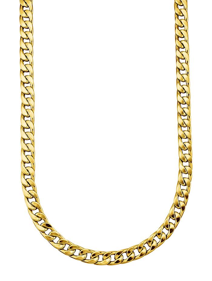 Halsband i pansarlänk, Guldfärgad