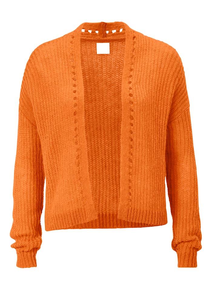 REKEN MAAR Strickjacke, Orange