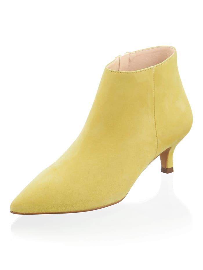 Alba Moda Ankle-Boot in bestechender Farbe, Limettengrün