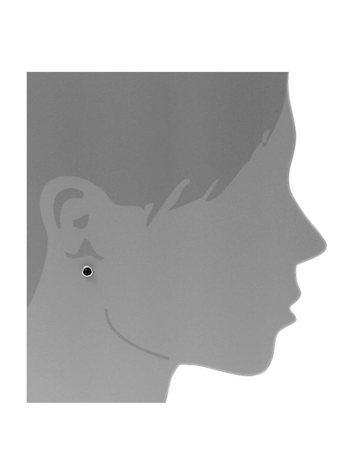 Ohrstecker - Classic 4 mm - Silber 925/000 - Bernstein