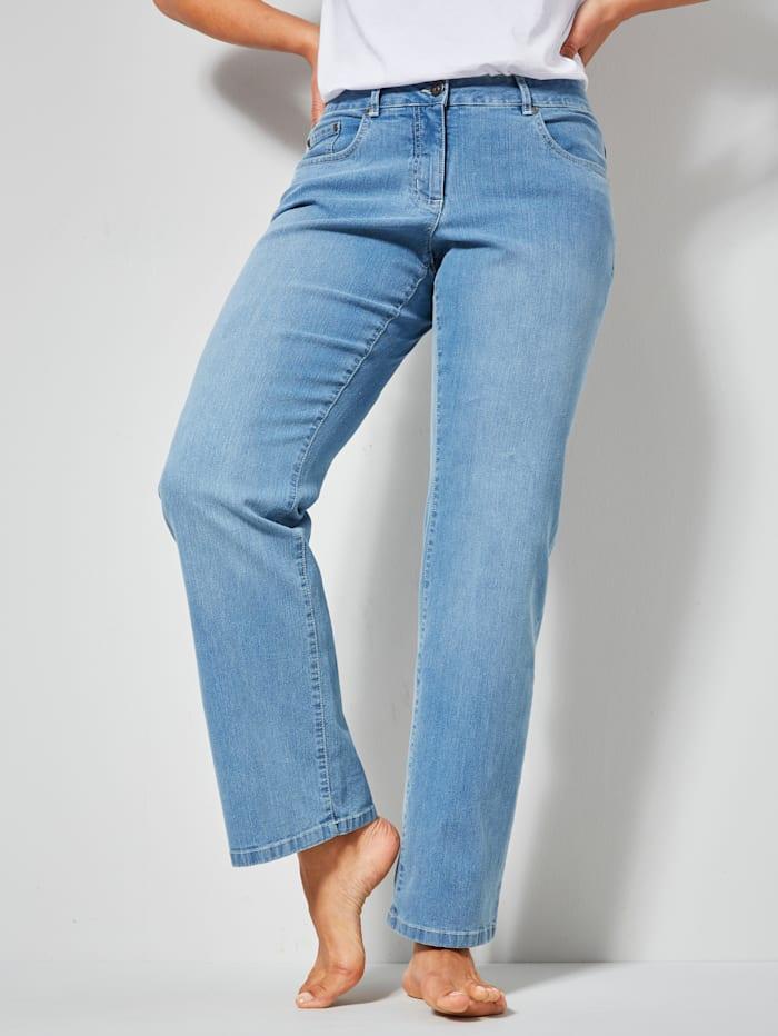 Dollywood Jeans PAULA Straight Cut, Light blue
