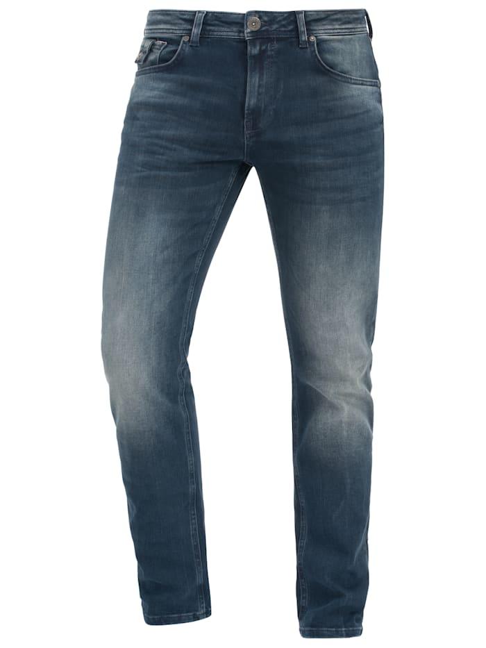 Miracle of Denim Regular Fit Jeans im 5-Pocket-Style, Fugia Blue