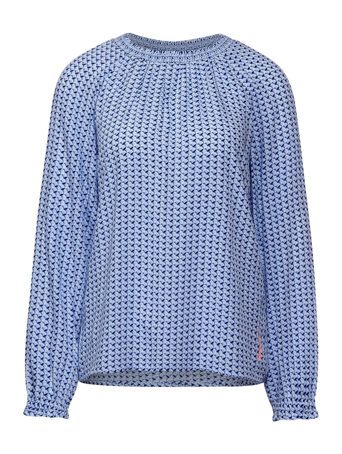 Street One Bluse mit Raglan-Ärmeln, breeze blue