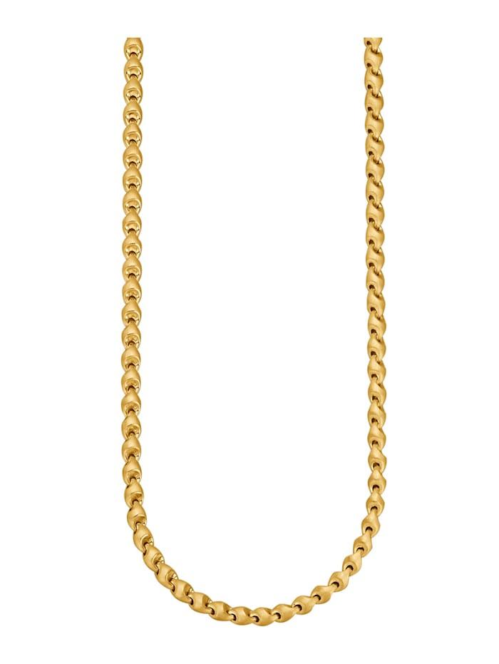 Halskette in Gelbgold 585, Gelbgoldfarben