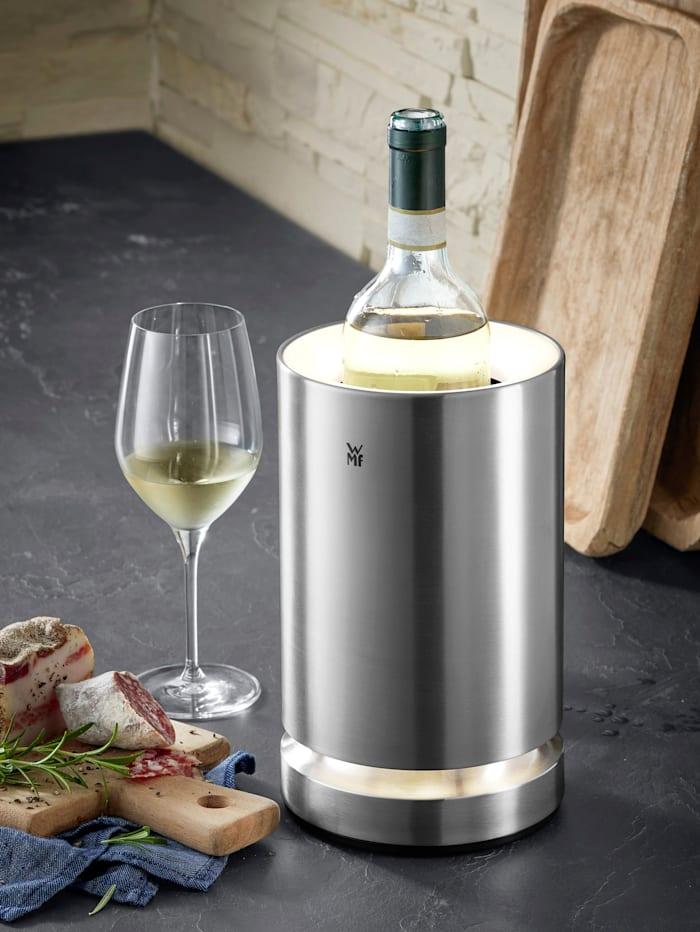 WMF WMF Sekt- und Weinflaschenkühler 'Ambient' mit LED-Beleuchtung, silberfarben