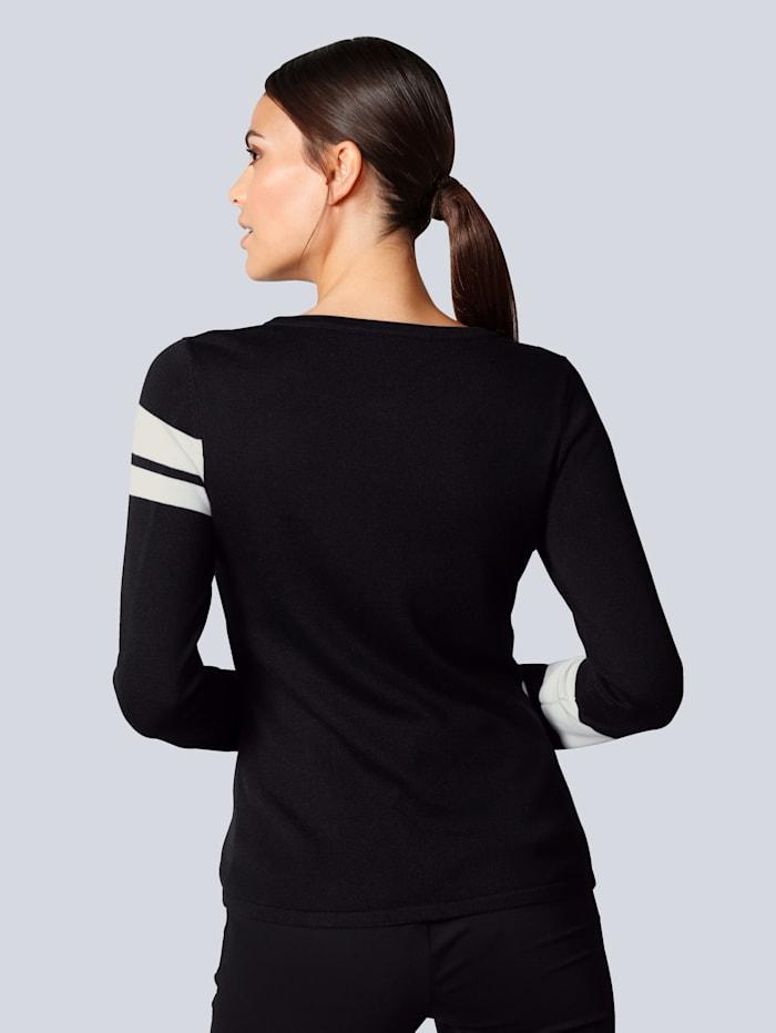 Pullover mit italienischem Schriftzug