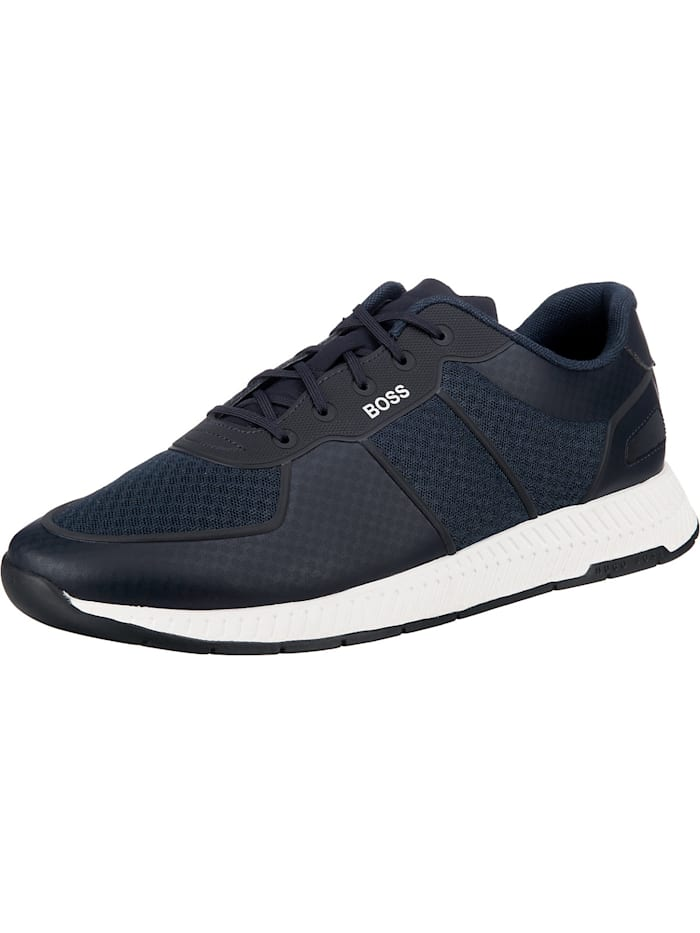 BOSS Titanium_runn_meml Sneakers Low, dunkelblau