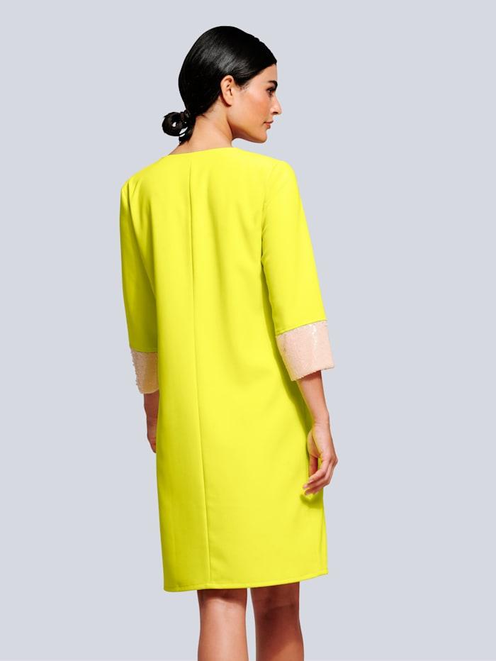 Kleid mit modischen Pailletten