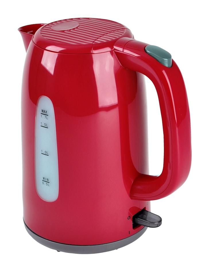 efbe-Schott Kabelloser Wasserkocher SC WK 1080.1, rot, Rot