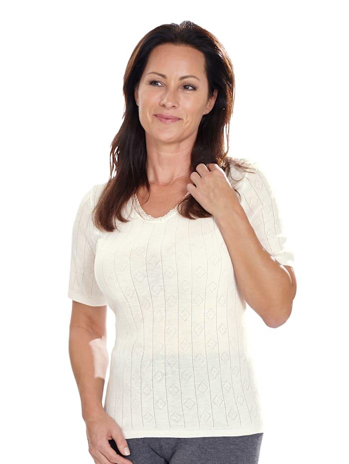 Peters angora Thermo Unterhemd, Weiß