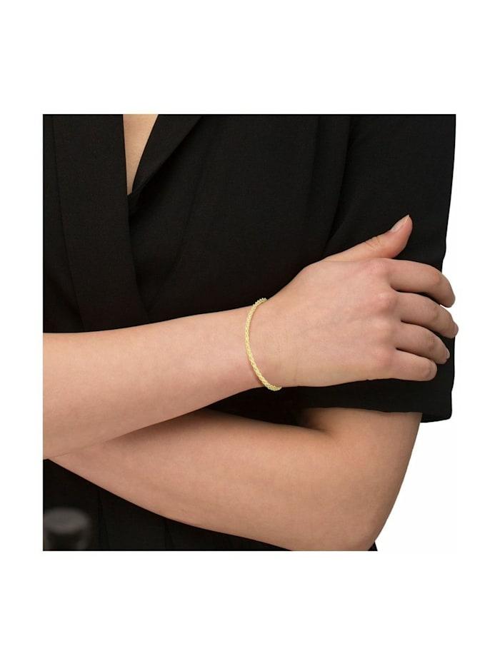 Armkette für Damen, Gold 375, Kordel