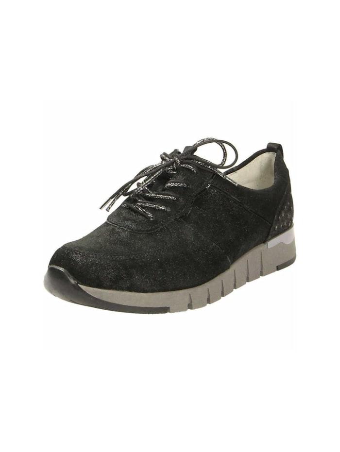 Waldläufer Sneakers, schwarz