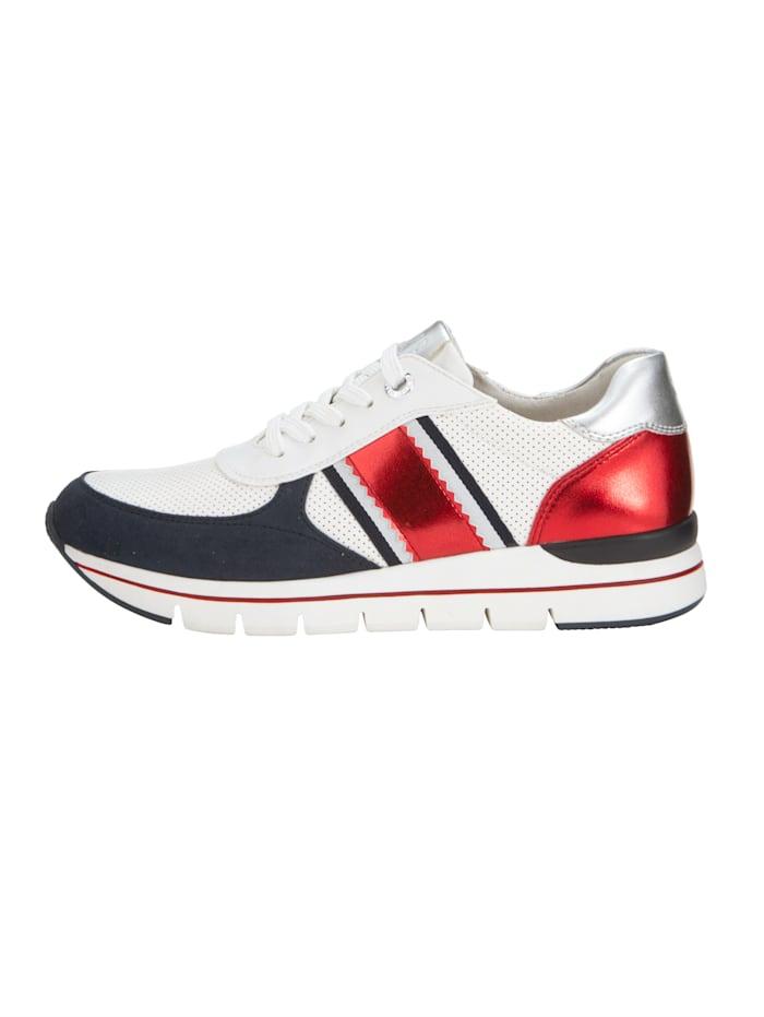 Sneaker met verwisselbare binnenzool