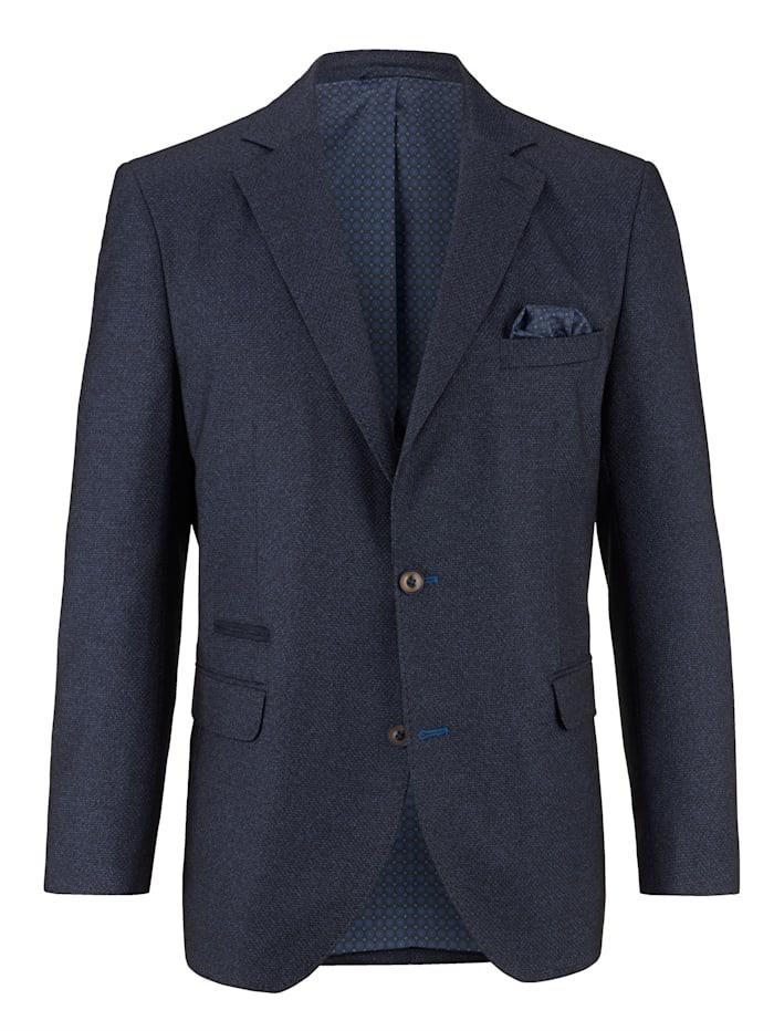 BABISTA Veste de costume en matière finement structurée, Bleu