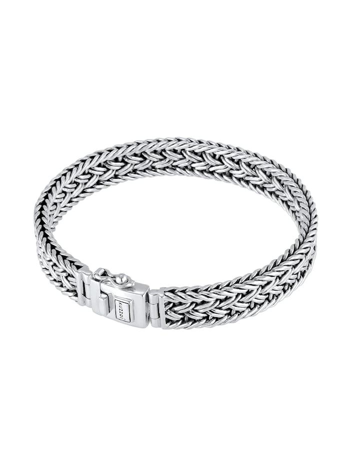 Armband Unisex Panzerarmband Kastenverschluss 925Er Silber