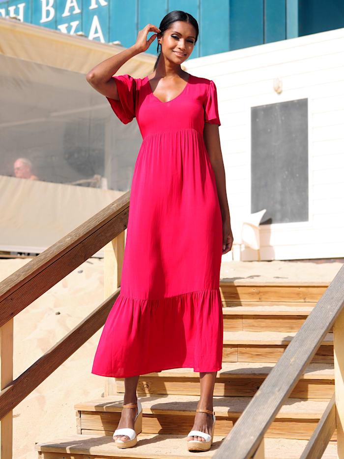 Alba Moda Strandkleid in leichter Qualität, Pink