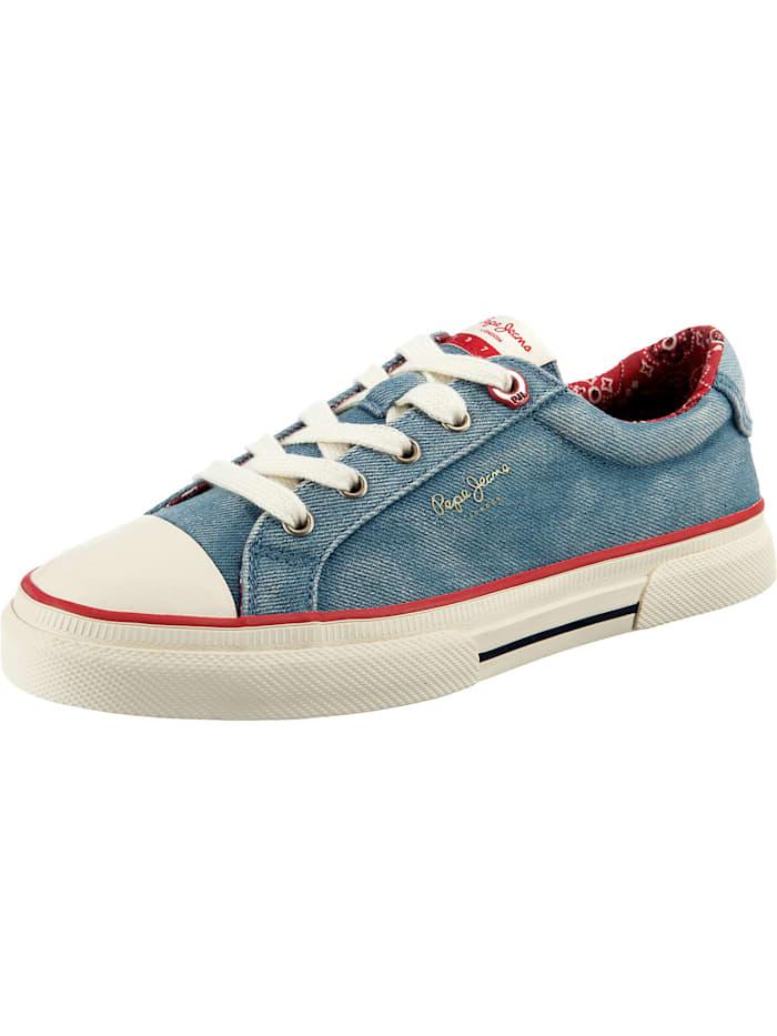 Pepe Jeans Kenton Denim Sneakers Low, denim