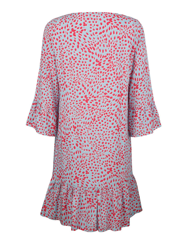 Kleid mit abstraktem Animal-Print