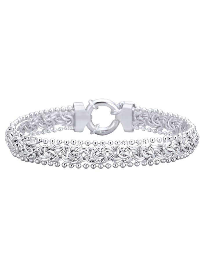AMY VERMONT Bracelet maille royale, Coloris argent