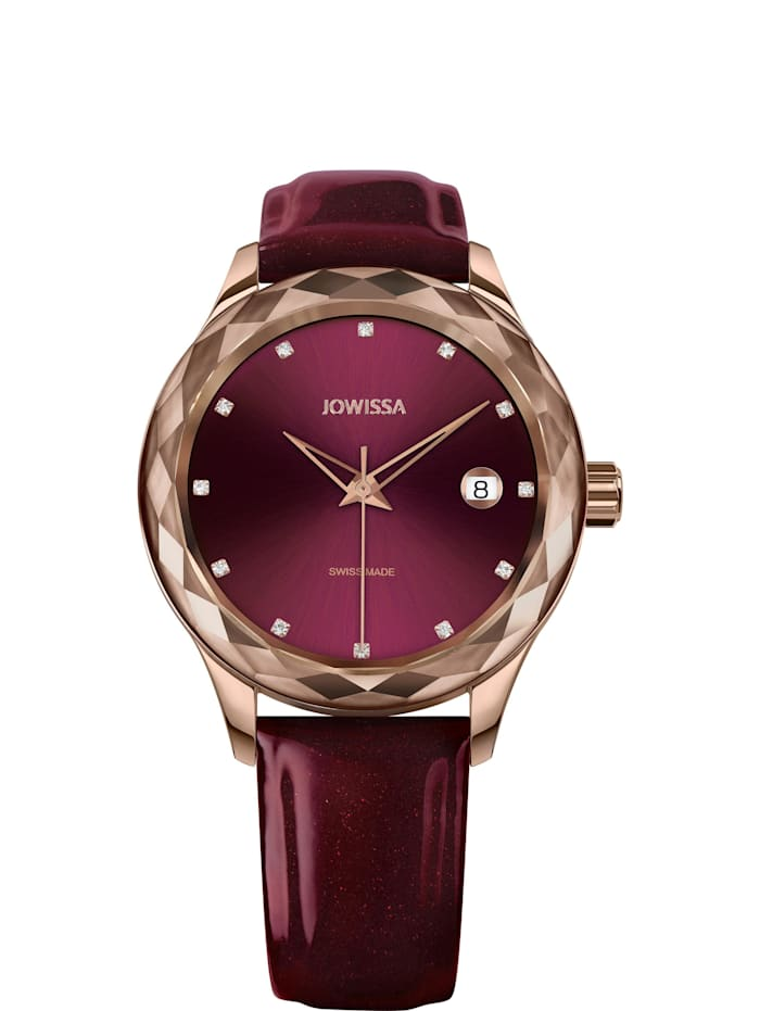 Jowissa Quarzuhr Tiro Swiss Ladies Watch, rot
