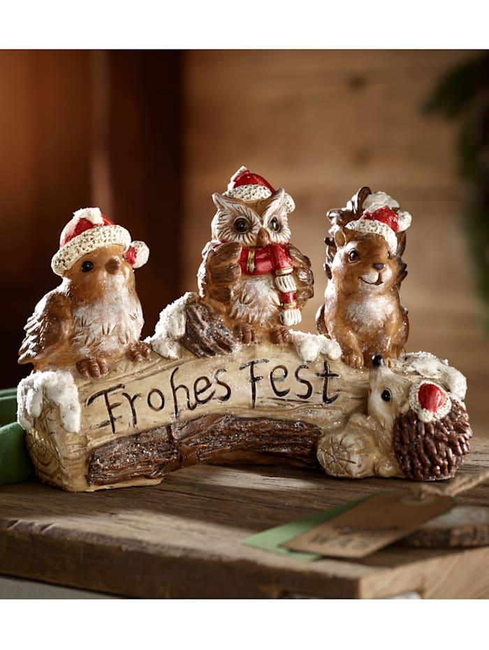 Dekoration med juldjur