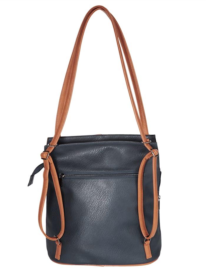Rucksacktasche als Tasche oder Rucksack verwendbar