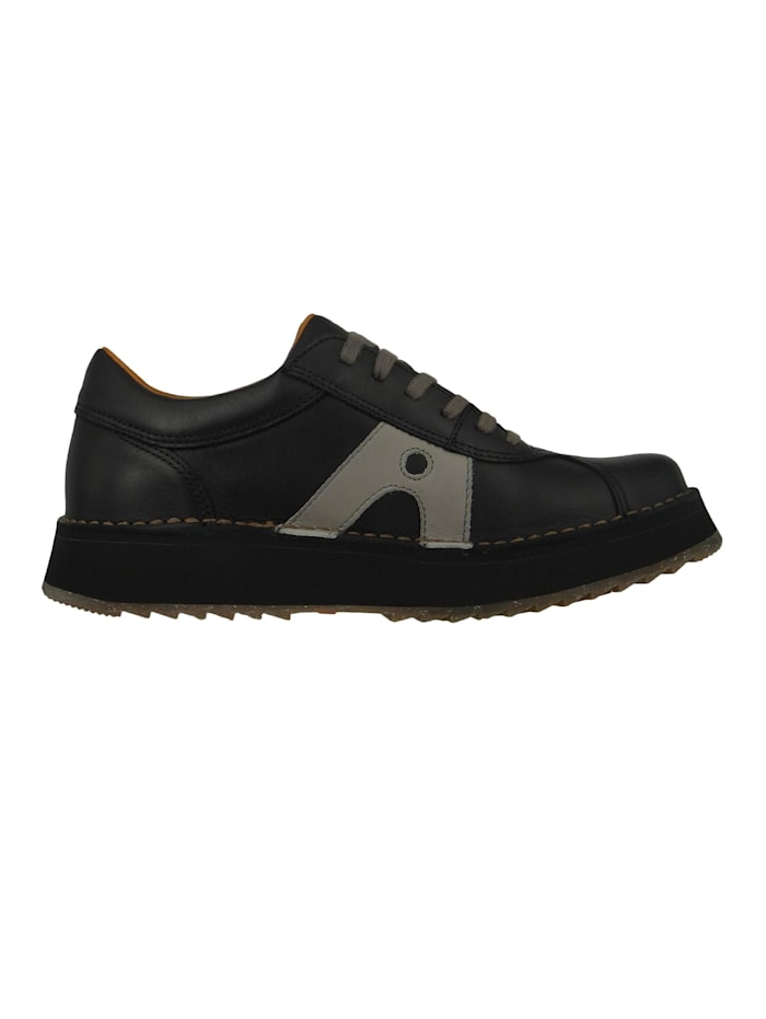 Damen Leder Sneaker Orly Black 1600