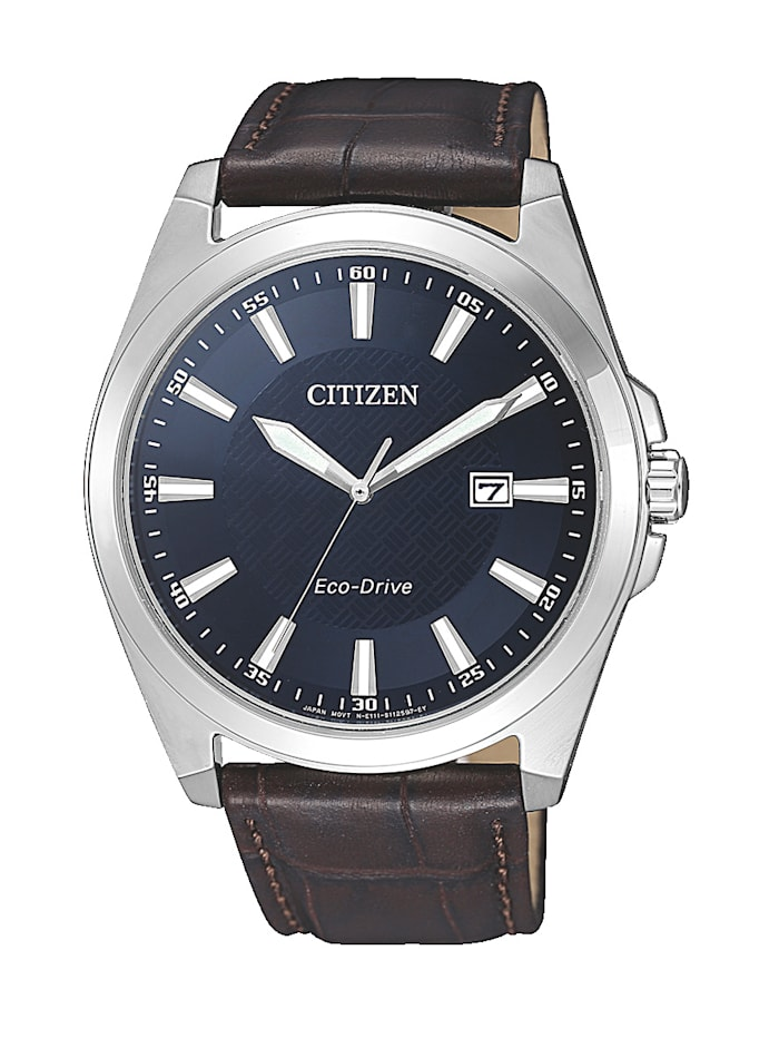 Citizen Herrenuhr, Eco-Drive BM7108-22L, Braun
