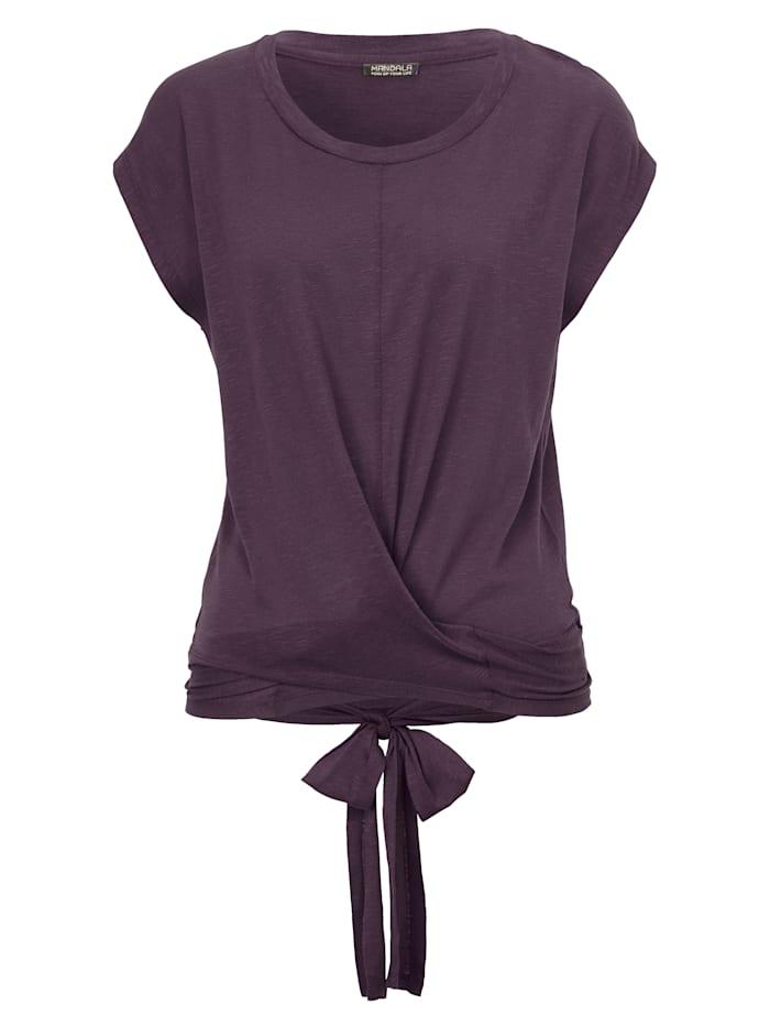 MANDALA Yoga-Shirt, Lila