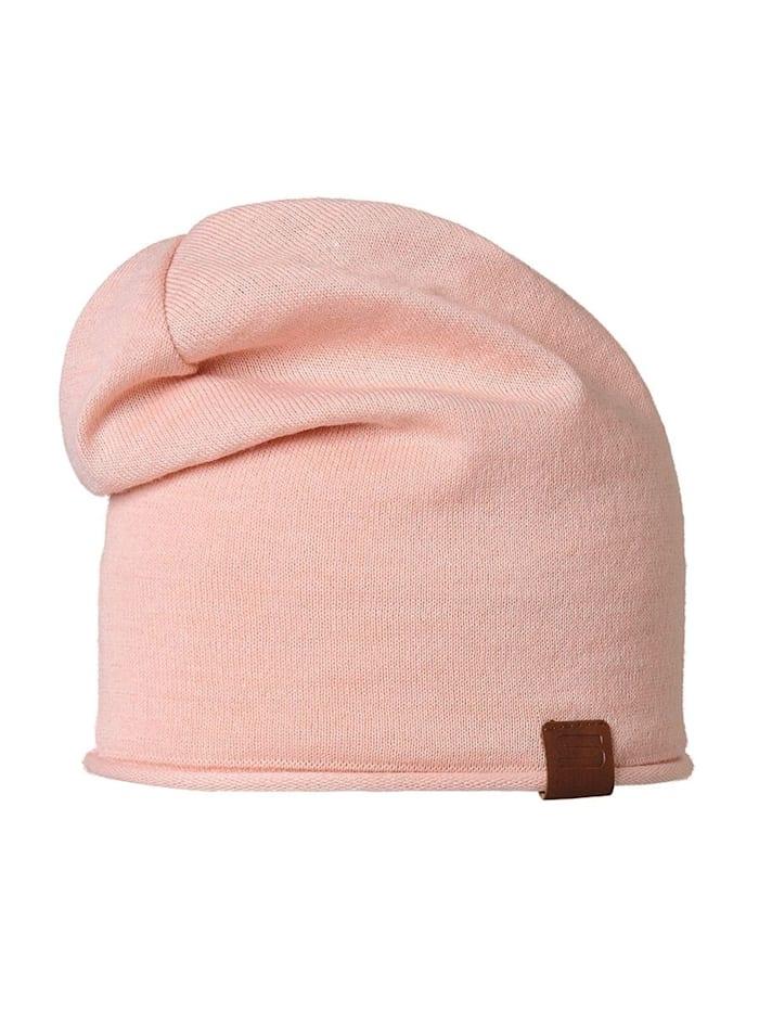 Stöhr RECI - Längere Mütze aus Garn, Rose