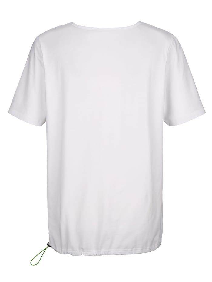 Tričko s praktickým tunýlkem se šňůrkou nalemu