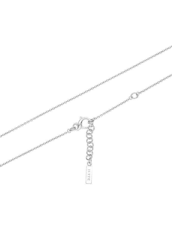JETTE Damen-Kette 925er Silber rhodiniert 62 Zirkonia