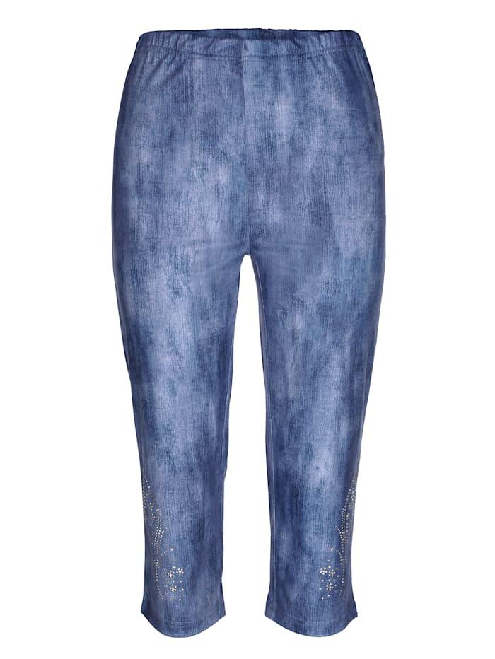 Capribroek in trendy jeanslook