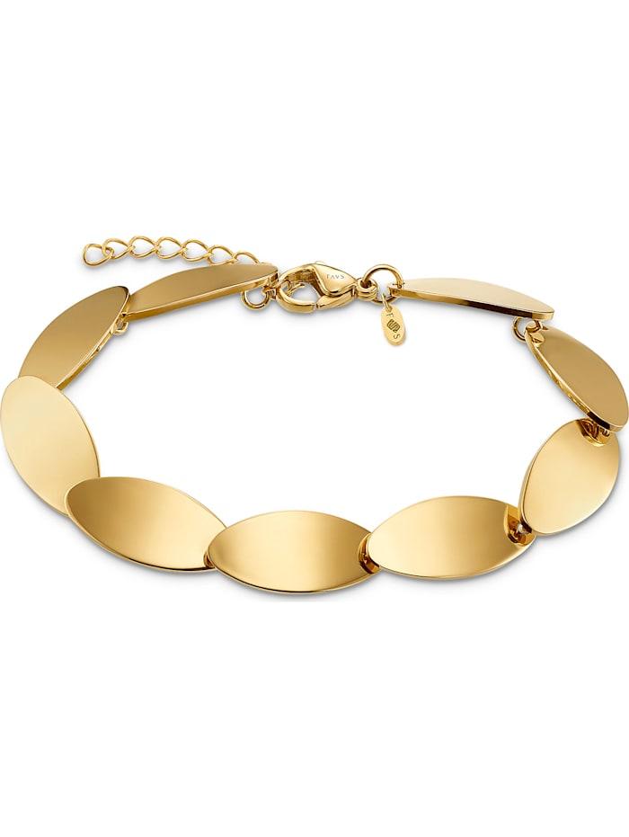 FAVS. FAVS Damen-Armband Edelstahl, gold