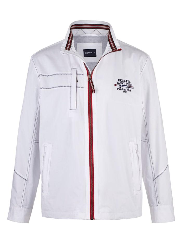 BABISTA Jacke aus Baumwolle, Weiß