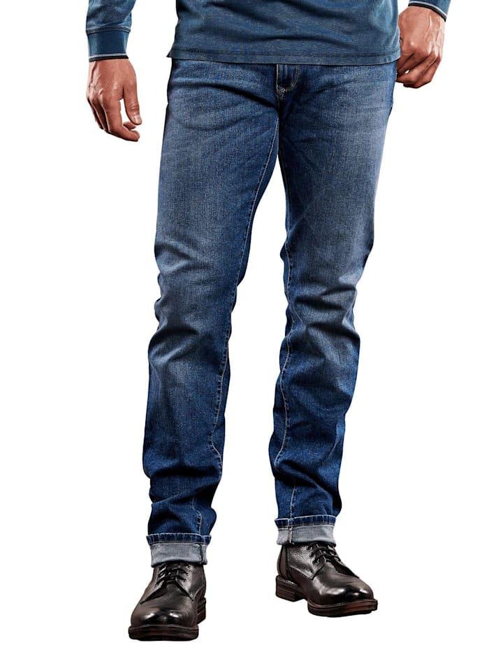 Engbers Authentisch gewaschene My Favorite Jeans, Brilliantblau