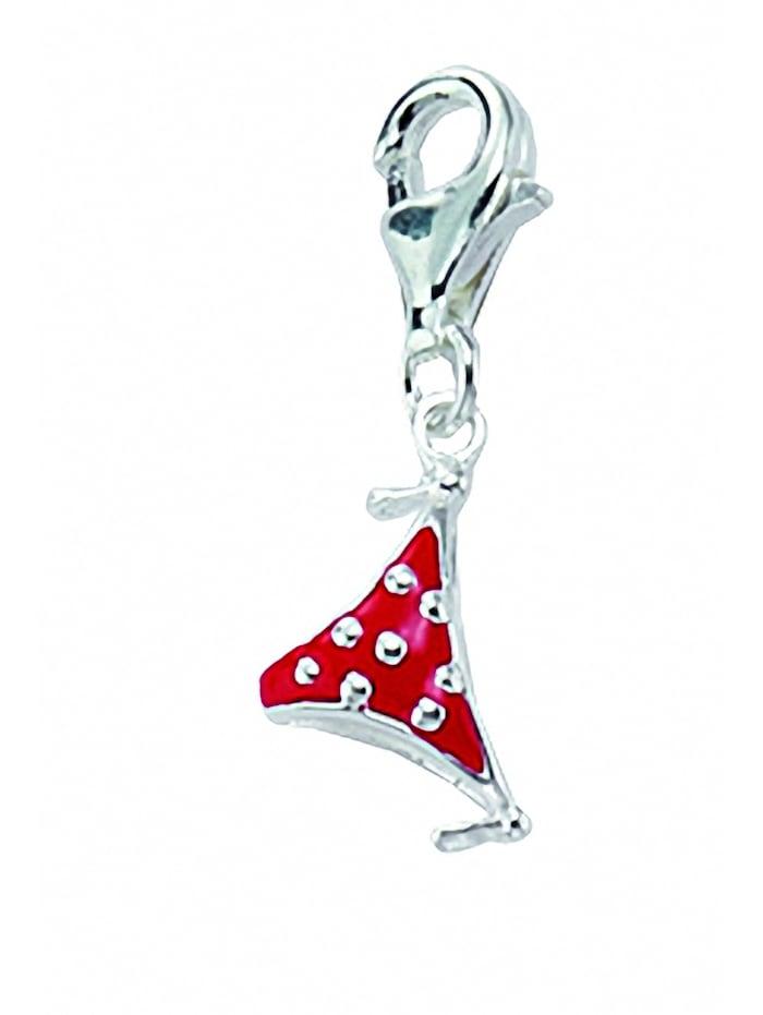 1001 Diamonds Damen Silberschmuck 925 Silber Charms Anhänger Bikini Unterteil, silber