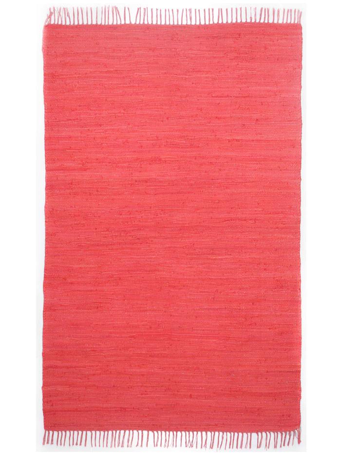 Theko®die Markenteppiche Handwebteppich Ulli, Rot