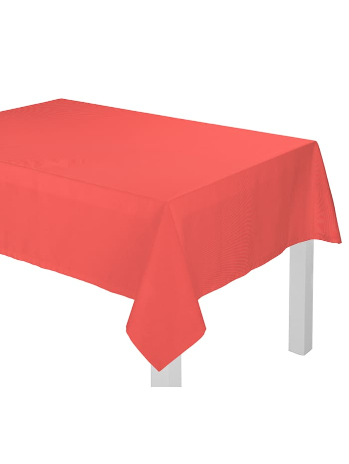 Wirth Tischdecke 'Uni Light Collection', Rot