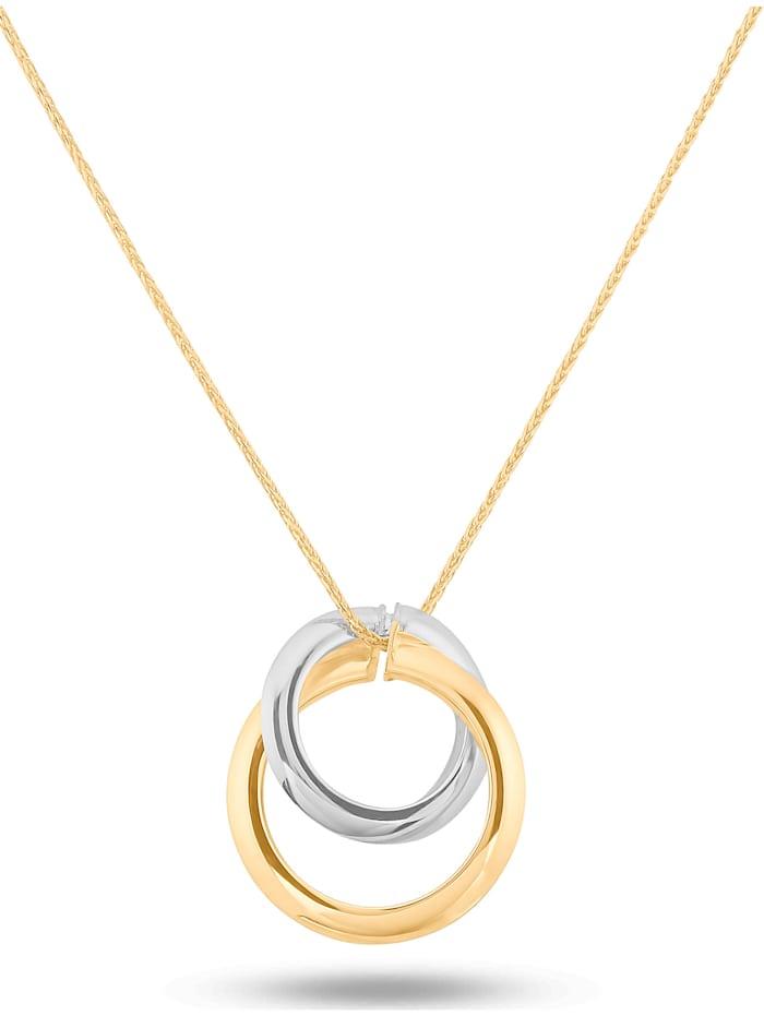 CHRIST GOLD CHRIST Damen-Kette Weißgold/Rotgold/gold, gold