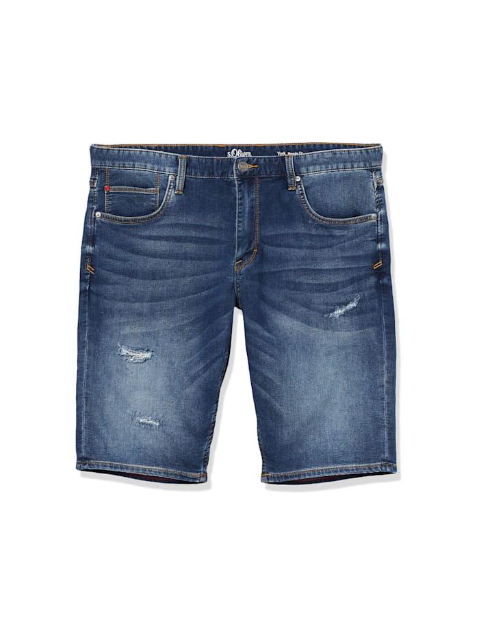 s.Oliver Jeans Short, grau