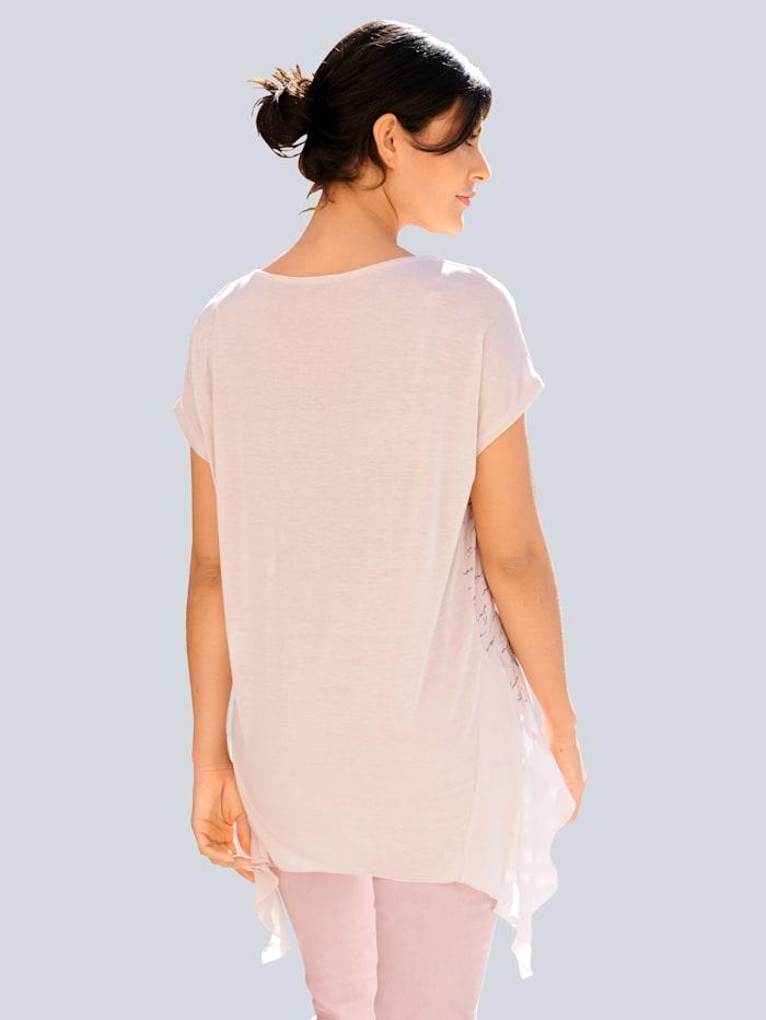 Shirt met motiefprint voor