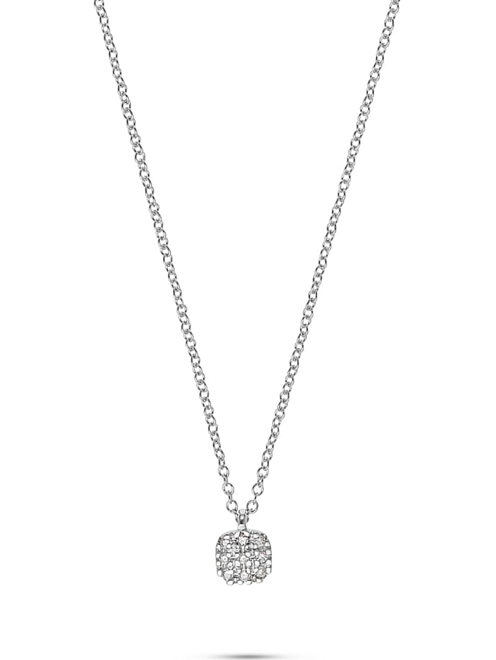 CHRIST C-Collection CHRIST Damen-Kette 375er Weißgold 9 Diamant, weißgold