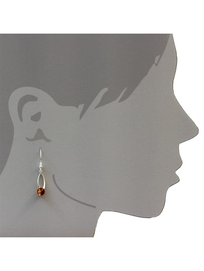 Ohrhänger - Melina - Silber 925/000 - Bernstein