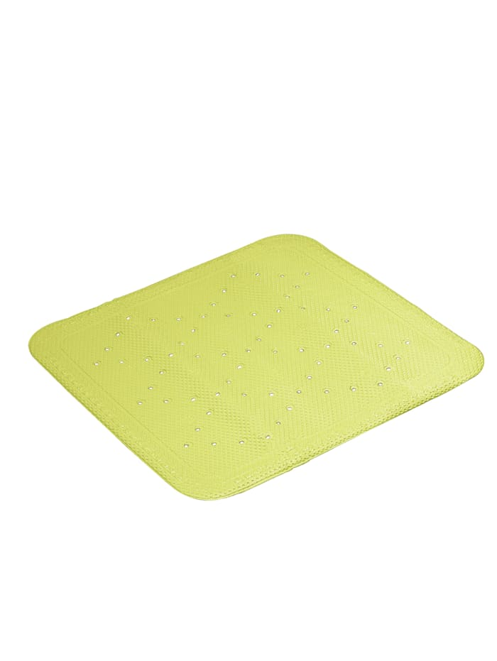 Kleine Wolke Douchebakmat, beige, Groen