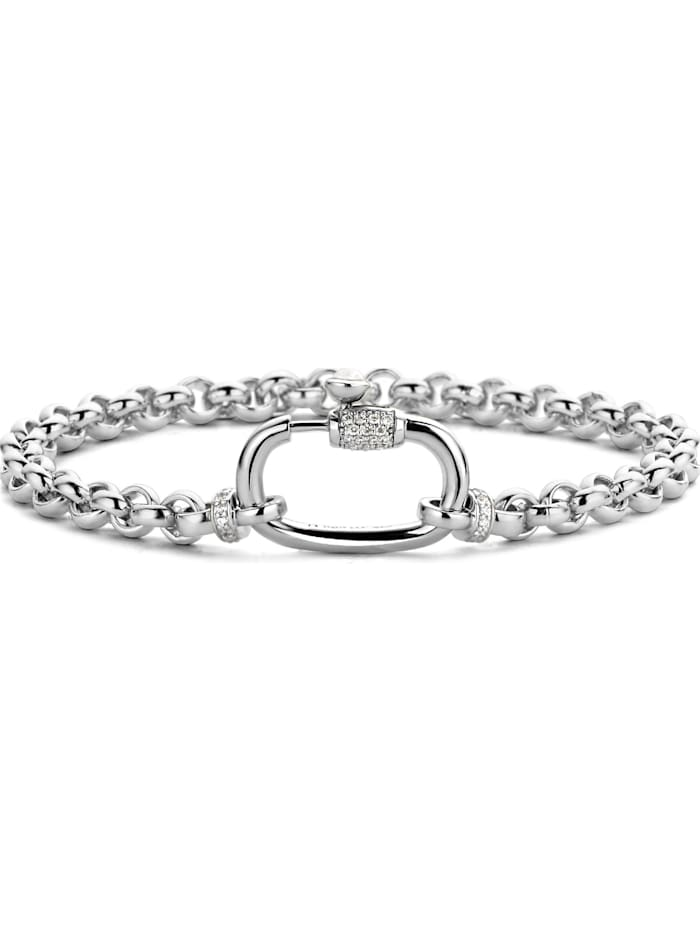 Ti Sento Milano Ti Sento - Milano Damen-Armband 925er Silber Zirkonia, silber