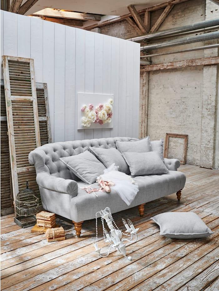 IMPRESSIONEN living Sofa, hellgrau