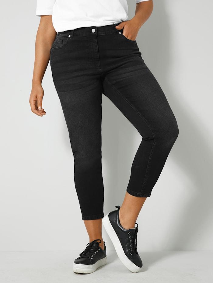 Angel of Style Jeans met push-up effect, Zwart