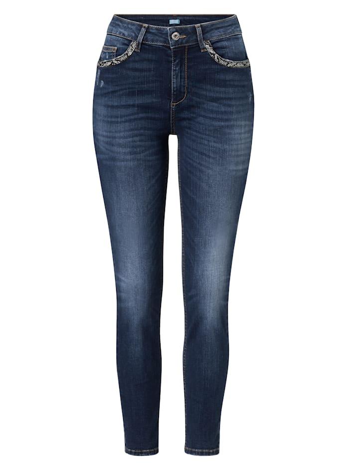 LIU JO Jeans, Jubiläumskollektion, Jeansblau